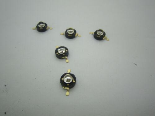 Epileds 1W 850NM IR Infrared High Power LED Light 1.4-1.7V  350-500MA 60°//120°