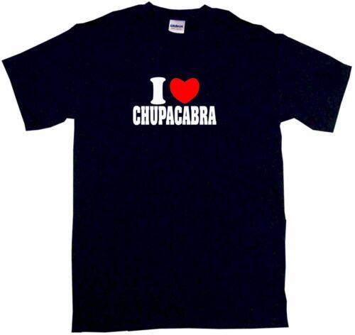 I Heart Love Chupacabra Mens Tee Shirt Pick Size Color Small-6XL
