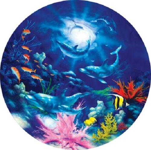 Jigsaw puzzle Animal Fish Dolphin Evening Romance 500 piece NEW