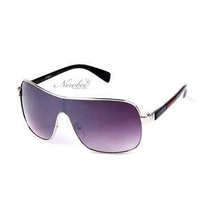 3f7771b5aa7b Image is loading Carrera-Sunglasses-Metal-Frame-Designer-Shield-Black-Silver