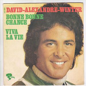 DAVID-ALEXANDRE-WINTER-45-tours-SP-BUENA-CHANCE-RARO