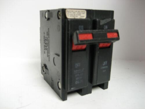 * BRYANT 20AMP 2 POLE  CIRCUIT BREAKER    TYPE BR   BR220 VS-581