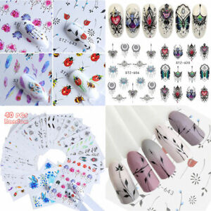 Wholesale-40-Sheets-Mixed-Flower-Water-Transfer-Nail-Stickers-Decals-Art-Tips