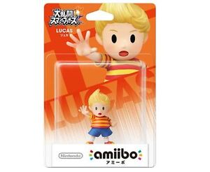 Details about Amiibo Lucas Super Smash Bros Mother 3 Japan Nintendo 3DS Wii  U