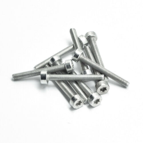 Guley 10pcs Spline Screw IS-M5x40 For Stihl 064 066 MS640 MS650 MS660