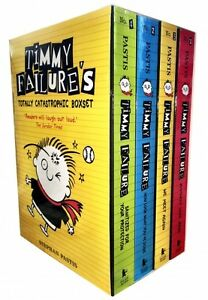 Timmy-Failure-Totally-Catastrophic-4-Books-Collection-Box-Set-We-Meet-Again
