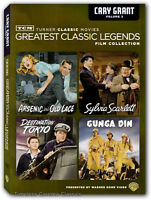 Gunga Din, Arsenic And Old Lace, Sylvia Scarlett, Destination Tokyo Dvd