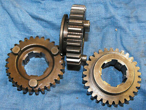 NOS Kawasaki OEM Transmission 4th Gear KZ900 Z1 KZ1000 13135-020