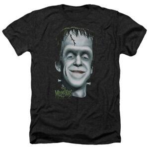 alle volwassen maten T heather Munsters Tv shirt Show Head foto Big Herman's WEI29DH