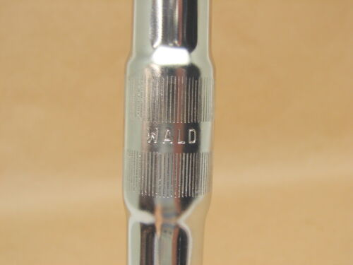"Vintage NOS Wald Bicycle Chrome Plated Drop Handle Bar Racing 1/"" Clamp Size"