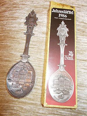 Flight Tracker Zinn Jahreslöffel 1986 Festsetzung Der Preise Nach ProduktqualitäT