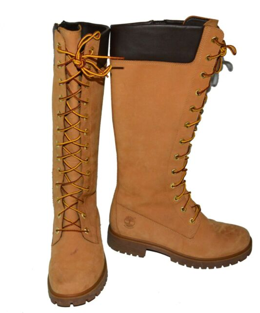 Disciplina estoy sediento Espinas  Timberland Premium 14 Inch BOOTS Knee High Boot Size 6.5 EUR 39.5 for sale  online   eBay