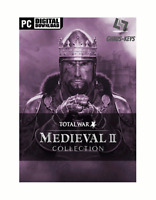 Medieval II 2 Total War Collection Steam Key Pc Game Code Global [Blitzversand]