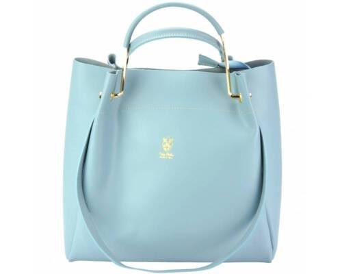 8051 Eleonora Shoulder bag in calfskin leather Italian Leather handbags CELE