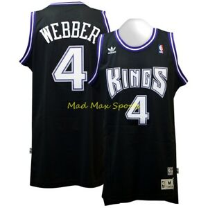 02fda979f CHRIS WEBBER Sacramento KINGS Road NBA Soul HWC Throwback SWINGMAN ...