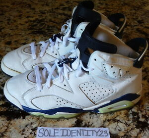 34a2ccf9f54e AIR JORDAN RETRO 6 MIDNIGHT NAVY MENS SIZE 10 SPORT BLUE PINNACLE ...