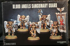 Warhammer 40K Blood Angels Sanguinary Guard (41-08)  NEW