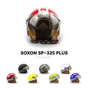 SOXON-SP-325-PLUS-CASQUE-MOTO-JET-DEMI-JET-HELMET-SCOOTER-RETRO-PILOT-XS-XL