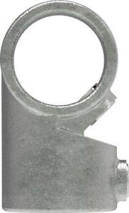 Rohrverbinder-Temperguss-Winkelgelenk-verstellbar-26-9-bis-48-3-mm-galvanisier