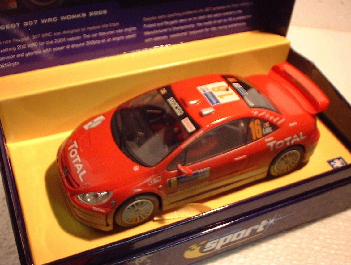 qq C2561A SCALEXTRIC SPORT SPORT SPORT RU PEUGEOT 307 WRC WORKS '05 Aucune 16 L.E Superslot a72608