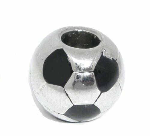 """soccer Ball"" Charm For European Charm Snake Chain Bracelets"