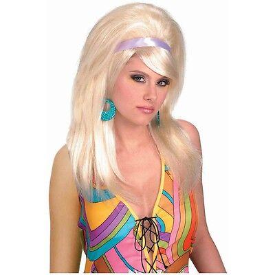 60s Mod Wig Costume Accessory Adult Womens Halloween