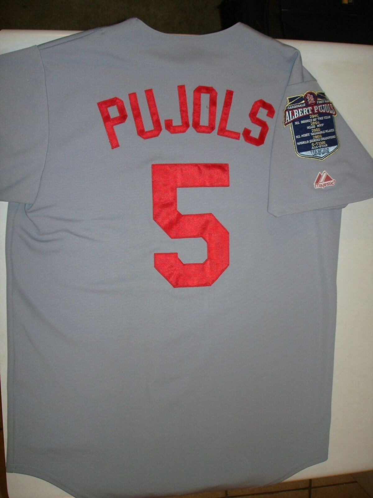 2210fc746 St Louis Cardinals Pujols LIMITED jersey Albert edition nrryqf7301-T ...