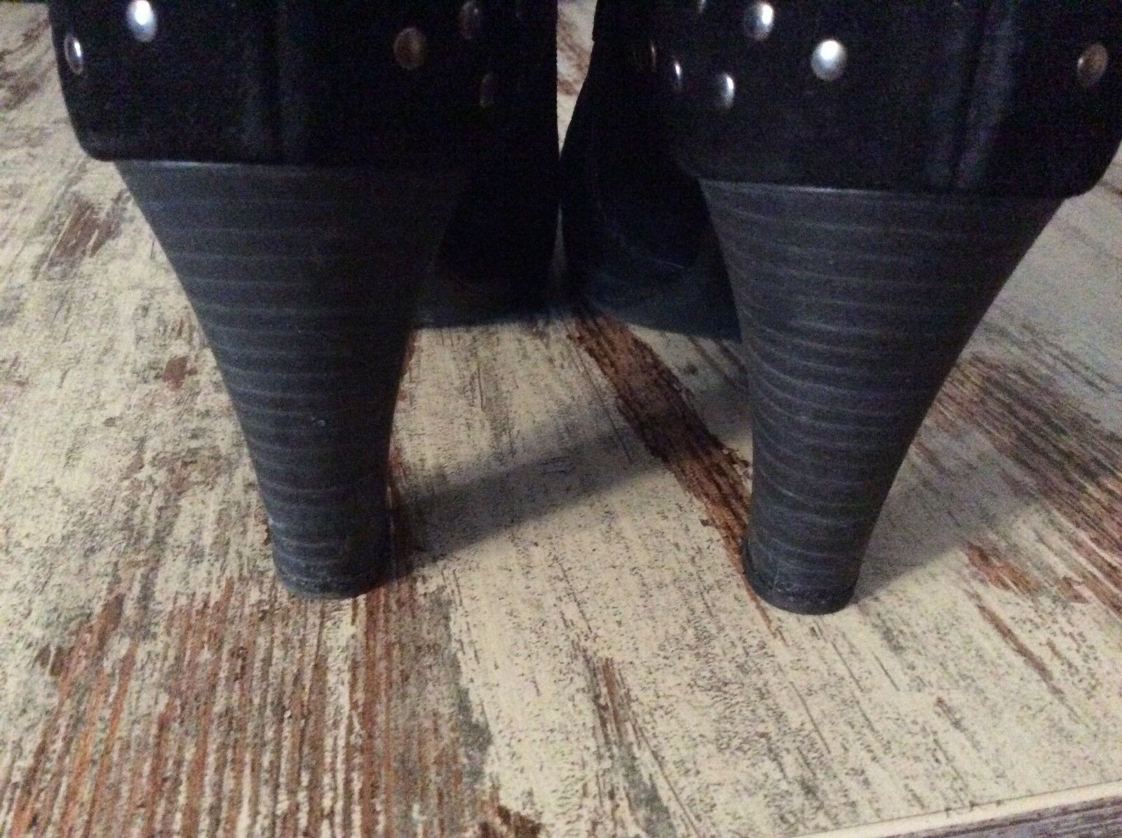 Gabor PUMPS süss stiefelette Gr.5 schwarz mit nieten süss PUMPS f8d8c4