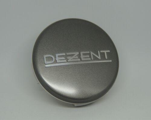 Zt2020g m57 DEZENT ANTRACITE MATT COPRIMOZZO CERCHI COPERCHIO 57 mm 1 St.