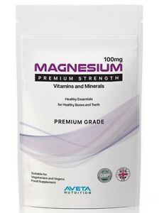 MAGNESIUM-Mineral-Supplement-TIREDNESS-amp-FATIGUE-TABLETS-UK-MADE