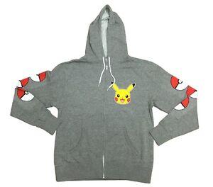 Pokemon-Pikachu-Poke-Circle-Classic-Adult-Zip-Up-Hoodie
