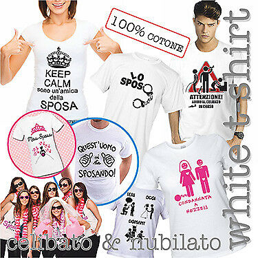 100 T-shirt Bianche Personalizzate