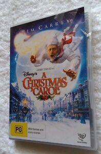 DISNEY'S A CHRISTMAS CAROL- JIM CARREY (DVD) R-4, NEW, FREE POST IN AUSTRALIA | eBay