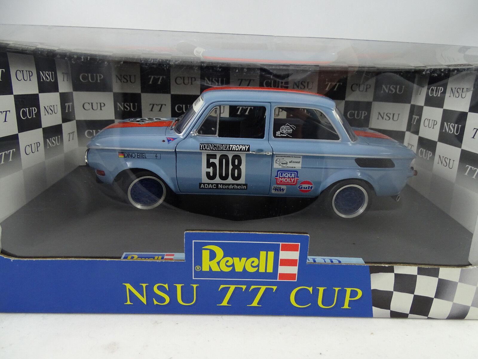 1 18 Revell  08432 NSU TT CUP RACING  508 R. podak-RARE NEUF §