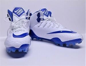 Nike-Men-039-s-Force-Savage-Pro-Football-Cleat-880144-144-Size-17-Blue-White-New