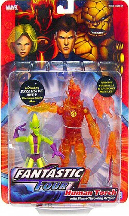 Marvel  Fantastic Four Huuomo Torch azione cifra  benvenuto a scegliere