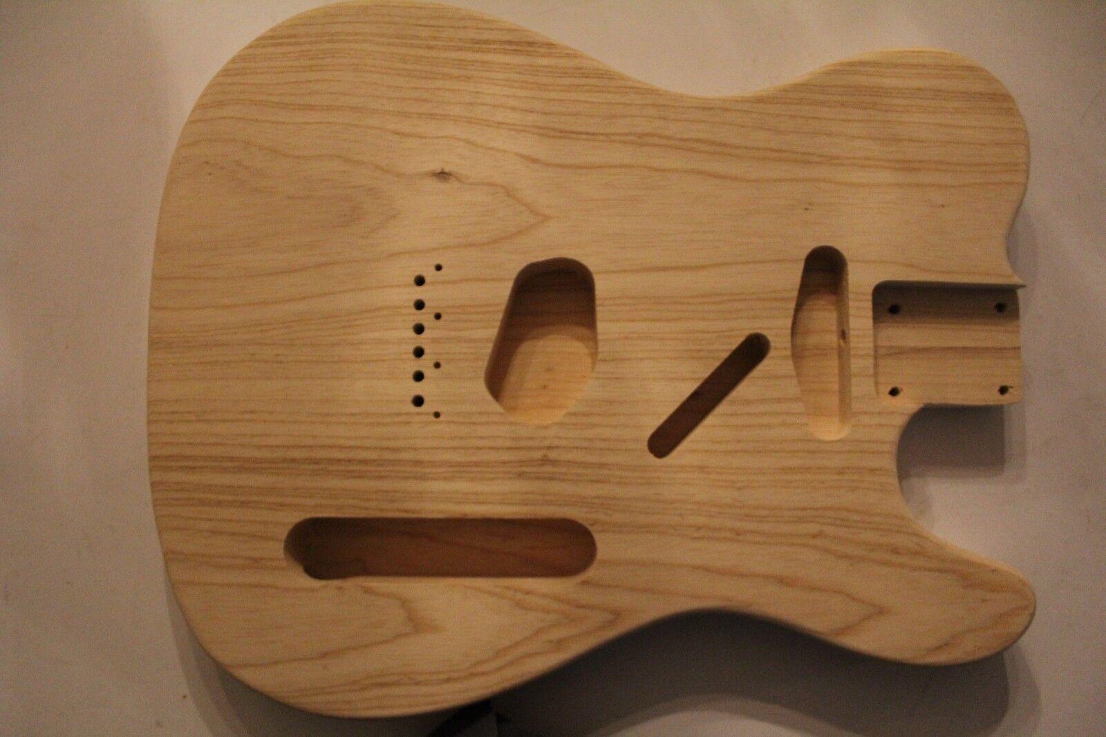 TMG Tele Body Korpus Swamp Ash Sumpfesche Gitarrenbau 56mm HT leicht 1,7 - 2 Kg