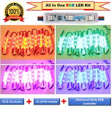 LUXLED Commercial Grade Multi Color LED Strip Lights Kit Plug n Play Light(30ft)