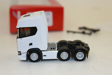 307543 //HN286 Herpa Scania CS 20 HD 6x2 Zugmaschine weiß Nr