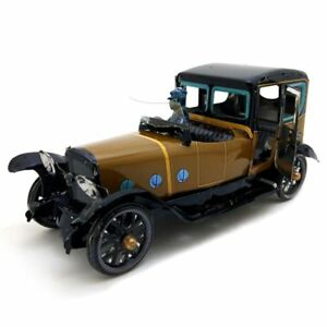Jouet-Mecanique-Ancien-Metal-Chauffeur-Driven-Saloon-Collection-Cadeaux-pou-X6G5