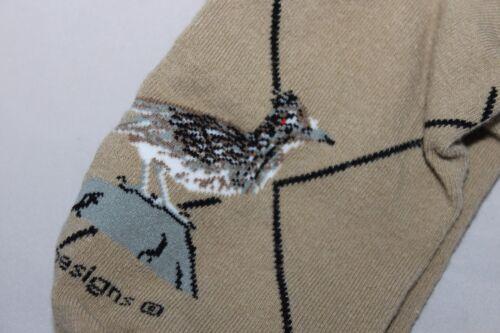Size 9-11 ROADRUNNER Socks WHEEL HOUSE DESIGNS Khaki MADE IN USA