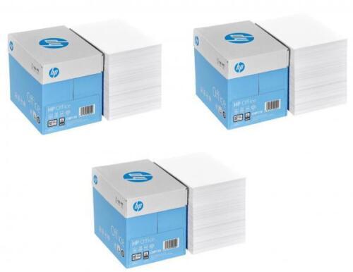 7.500 Blatt HP Kopierpapier Druckerpapier OFFICE A4 80 g//qm reinweiß