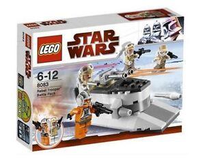 Lego-Star-Wars-Rebel-Trooper-Battle-Pack-8083-Hoth-Snow-Trooper-Zev-Senesca-NISB