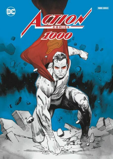 ACTION COMICS #1000 deutsch COLLECTOR´S EDITION lim.500 VARIANT-FOLDER Superman