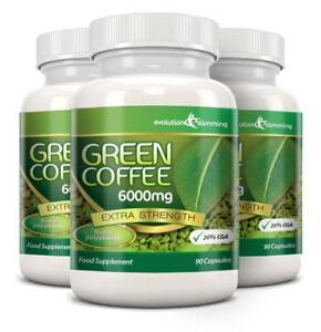 ingredienti in estratto di chicco di caffè verde puro