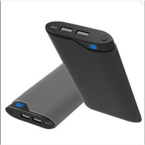 10000mah Portable Dual USB Power Bank External LED Digital Battery Charger Phone