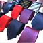 Classic-Red-Black-Blue-Mens-Tie-Paisley-Stripe-Silk-Necktie-Set-Wedding-Jacquard thumbnail 1