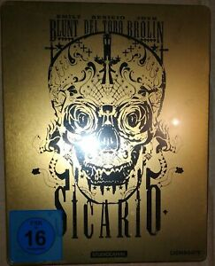 Blu-ray-Sicario-steelbook-VF-NON-INCLUSE-NEUF-SOUS-BLISTER