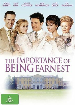 The Importance Of Being Earnest  2002 = COLIN FIRTH = PAL 4 = SEALED