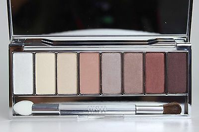 CLINIQUE ALL ABOUT SHADOW 8 PAN PALETTE NEUTRAL TERRITORY 2!GORGEOUS NUDES! NEW!